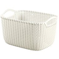 Curver Knit 8L round basket cream - Storage Box