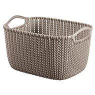 Curver Knit Round Basket 8l Brown - Storage Box