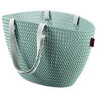 Currier Knit Emily gray blue - Shopping Bag