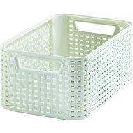 Curver Style Basket in Cream - Storage Box