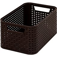 Curver Style basket in dark brown - Storage Box
