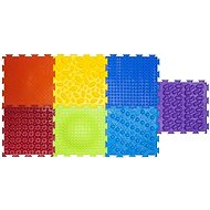 Set of Massage Mats, Rainbow - Accessories