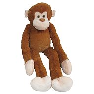 Soft Toy monkey with long arms 100cm, light brown - Plush Toy