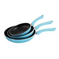 Kitchen Artist Set of 3 Frying Pans MEN124B - Pans set