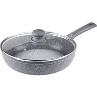Lamart LT1092 Pan with Cover 28cm, Marble Surface - Pan