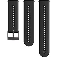 Suunto 24mm Athletic 7 Silicone Strap Charcoal Black S/M - Watch band