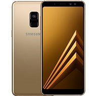 Samsung Galaxy A8 Duos Gold - Mobile Phone