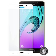Screenshield SAMSUNG A510 Galaxy A5 (2016) Tempered Glass (full COVER WHITE metallic frame) - Glass protector