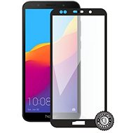 Screenshield HONOR 7S (full COVER black) - Glass protector