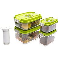 STATUS 5 piece set Green bag boxes - Vacuum Sealer