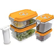 STATUS 5 piece set bag boxes Orange - Vacuum Sealer