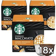 Starbucks by Nescafe Dolce Gusto Caramel Macchiato, 3-Pack - Coffee Capsules