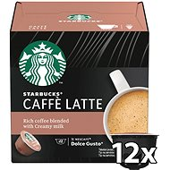 STARBUCKS® Caffe Latte by NESCAFE® DOLCE GUSTO® Coffee Capsules 12 pcs - Coffee Capsules