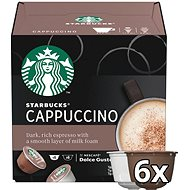 STARBUCKS® Cappuccino by NESCAFE® DOLCE GUSTO® Coffee Capsules 12 pcs - Coffee Capsules