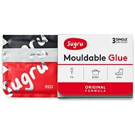 Sugru Moldable Glue 3-Pack - Black, White, Red