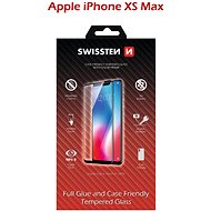 Swissten Case Friendly for iPhone XS Max, Black - Glass protector