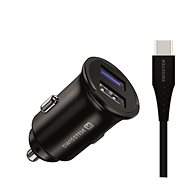 Swissten CL Adapter for Huawei Super Charge 22.5W + Huawei Super Charge Cable 5A 1.2m Black - Car Charger