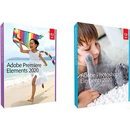 Adobe Photoshop Elements + Premiere Element 2020 ENG WIN/MAC (BOX) - Software
