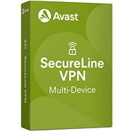 Avast SecureLine VPN Multi-device for 5 devices for 12 months (electronic license) - Security Software