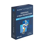 Acronis True Image 2021 for 3 PCs (Electronic License) - Backup Software