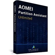 AOMEI Partition Assistant Unlimited (Electronic License) - Backup Software