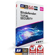 Bitdefender Total Security 2020 (Electronic Licence) -  Electronic licenses