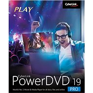 Cyberlink PowerDVD 19 Pro (electronic license) - Electronic license
