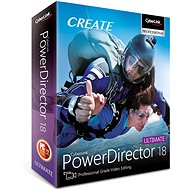 CyberLink PowerDirector 18 Ultimate (Electronic License) - Electronic license