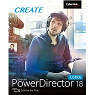 CyberLink PowerDirector 18 Ultra (electronic license) - Electronic license