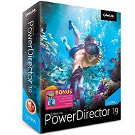 CyberLink PowerDirector 19 Ultra (Electronic Licence) - Video Software
