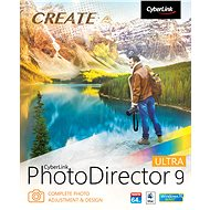CyberLink PhotoDirector 9 Ultra (Electronic License) - Graphics software
