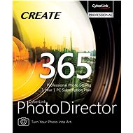 CyberLink PhotoDirector 365 for 12 Months (Electronic License) - Office Software