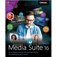 Cyberlink Media Suite 16 Ultimate (Electronic License) - Office Software