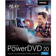 Cyberlink PowerDVD 20 Pro (Electronic License) - Office Software