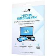 F-Secure FREEDOME for 1 device for 2 years (electronic license) - Electronic licenses