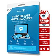 F-Secure SAFE DR - 5 devices for 2 years + Data Recovery - 1 device for 2 years (electronic licence) - Electronic licenses