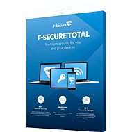 F-Secure TOTAL FAMILY DR for 5 devices per year + Data Recovery for 1 device per year (electronic - Electronic licenses