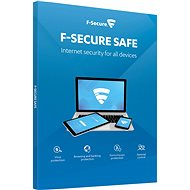 F-Secure SAFE for 1 Device for 1 Year (Electronic License) - Antivirus