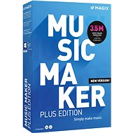 MAGIX Music Maker Plus 2021 (Electronic License) - Office Software