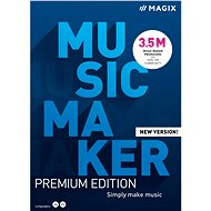 MAGIX Music Maker Premium 2021 (Electronic License) - Office Software