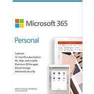 Microsoft 365 Personal EN (Electronic License) - Office Software