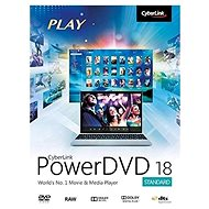 Cyberlink PowerDVD 18 Standard (Electronic License) - Electronic license