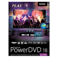 Cyberlink PowerDVD 18 Ultra (Electronic License) - Video Software