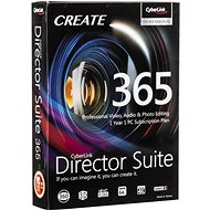 Cyberlink Director Suite 365 for 12 Months (Electronic License) - Office Software