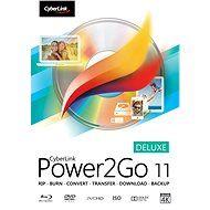 Cyberlink Power2GO Deluxe 11 (Electronic License)