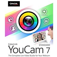 Cyberlink YouCam 7 Standard (Electronic License) - Electronic license