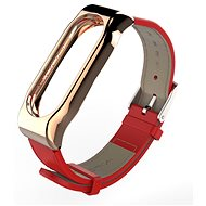 SXT Leatherette Strap, Red - Watch band