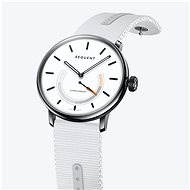 Sequent SuperCharger 2.1 Premium Snow White with White Strap - Smartwatch