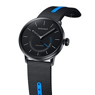 Sequent SuperCharger 2.1 Sport Smoky Metal with Black/Blue Strap - Smartwatch