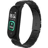 Smartomat Sunset 4 Pro Black Metal Strap - Fitness Bracelet